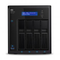 SERVIDOR NAS WD WESTERN DIGITAL MY CLOUD PR4100 4GB RAM 4 BAHIAS RAID ETHERNET GIGABIT