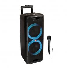 ALTAVOZ PREMIUM PORTATIL NGS WILD JUNGLE 2 300W  SUBWOOFER 8  USB   BLUETOOTH 5.0 TWS   USB - AUX   MICROFONO   5 H AUTONOMIA