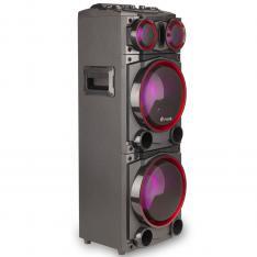 "ALTAVOZ PREMIUM NGS WILD PUNK 1 300W/ SUBWOOFER 8"" X2/ USB/ SD/ BLUETOOTH/ RADIO FM"