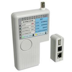 TESTER PROBADOR DE CABLES WP RJ11/RJ12/RJ45/BCN/USB