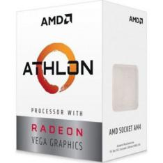 MICRO. PROCESADOR AMD ATHLON 200GE 2 CORE 3.2GHZ 4MB AM4 RADEON VEGA 3