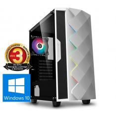 ORDENADOR PHOENIX GAMING RGB ZORK 3 WHITE AMD RYZEN 3 VGA VEGA8 DDR4 2666 240GB SSD 1TB HDD ATX RGB PC WINDOWS 10