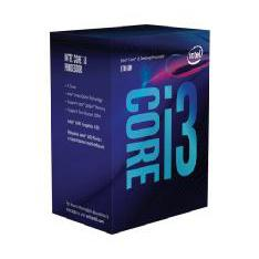 MICRO. INTEL I3 8100 LGA 1151 8ª GENERACION 4 NUCLEOS  3.6GHZ  6MB  IN BOX