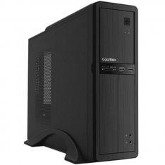 CAJA ORDENADOR SOBREMESA COOLBOX MICROATX SLIM T300 USB 3.0  LECTOR DE TARJETAS FUENTE SFX INCLUIDA