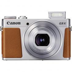 CAMARA DIGITAL CANON POWERSHOT G9X MARK II 20.1MP  3  ZO 3X  BLUETOOTH  WIFI  NFC ACTIVO  PLATA