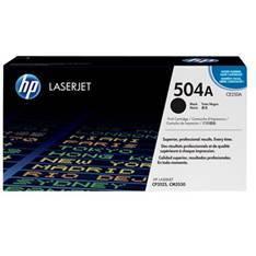 TONER HP 504A CE250A NEGRO 5000 PAGINAS CM3530  CP3525