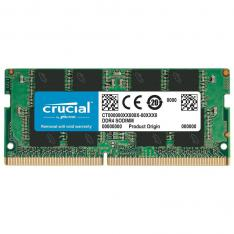 MEMORIA DDR4 8GB CRUCIAL   SODIMM   2666 MHZ   PC4 21300 CL19