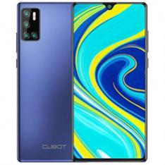 TELEFONO MOVIL SMARTPHONE CUBOT P40 AZUL  6.2  128GB ROM  4 GB RAM  NFC  12+5+2+0.3MPX - 20MPX  4200MAH  QUAD CORE  DUAL SIM  4G  DESBLOQUEO FACIAL