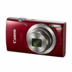CAMARA DIGITAL CANON IXUS 185 ROJA 20MP ZOOM 16X  ZO 8X  2.7 LITIO  VIDEOS HD  FECHA