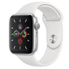 RELOJ APPLE WATCH SERIES 5 44 MM CAJA DE ALUMINIO CON CORREA DEPORTIVA PLATEADO