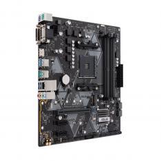 PLACA BASE AMD PRIME B450M-A SOCKET AM4 DDR4X4 3200MHZ MAX 64GB DVI-D VGA HDMI MATX