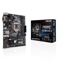 PLACA BASE ASUS INTEL PRIME H310M-A R.2 SOCCKET 1151 DDR4 X 2 2666MHZ MAX 32GB DVI-D VGA HDMI MATX