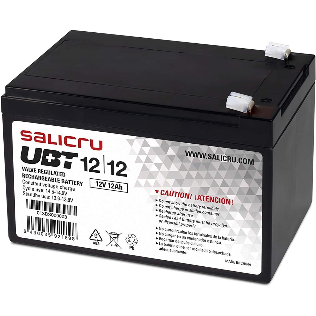 SALICRU UBT 12/12 - batería de UPS - Ácido de plomo - 12 Ah