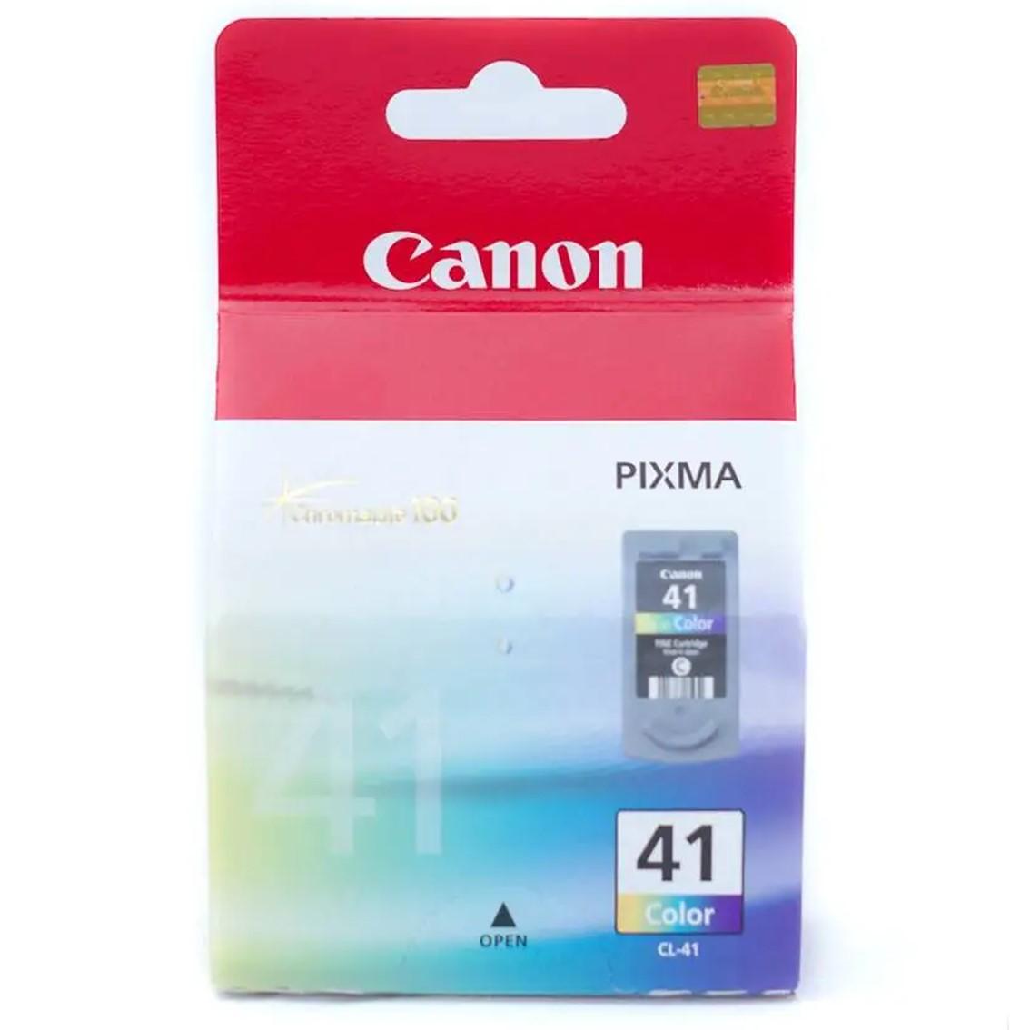 Canon CL-41 - Alto rendimiento - color (cian, magenta, amarillo) - original - cartucho de tinta