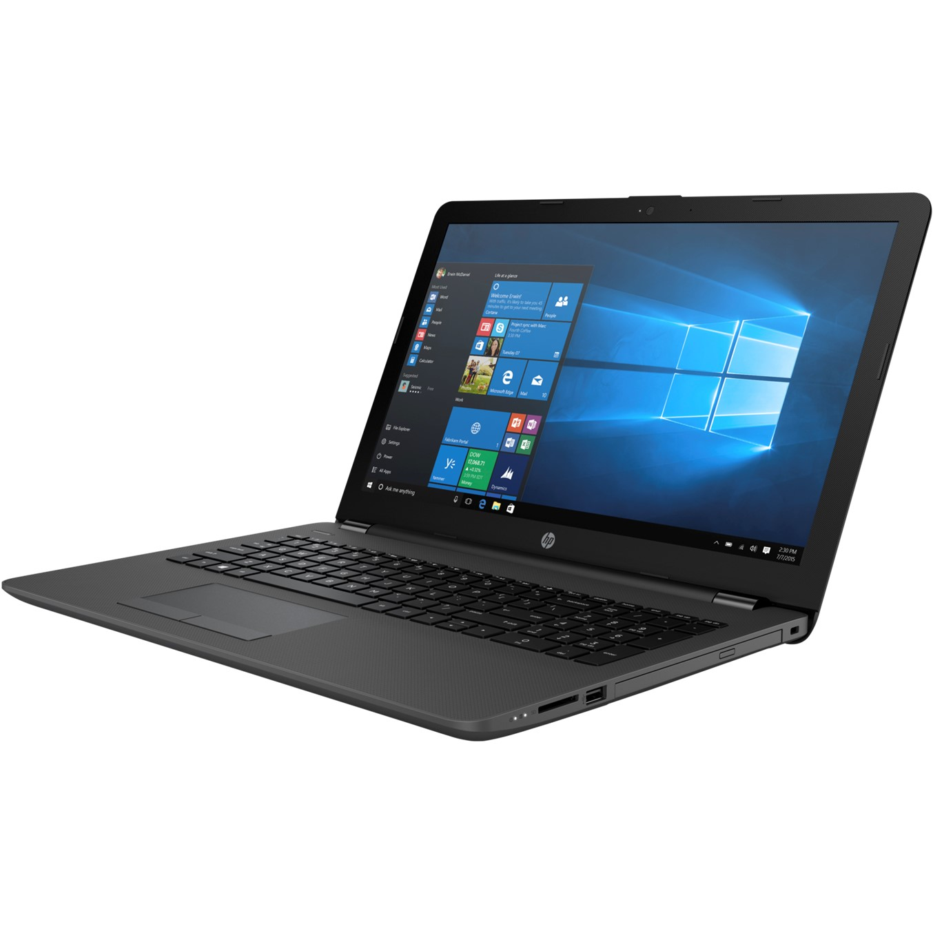 "PORTATIL HP 250 G7 CELERON N4000 15.6"" 8GB / SSD256GB / WIFI / BT / W10P"