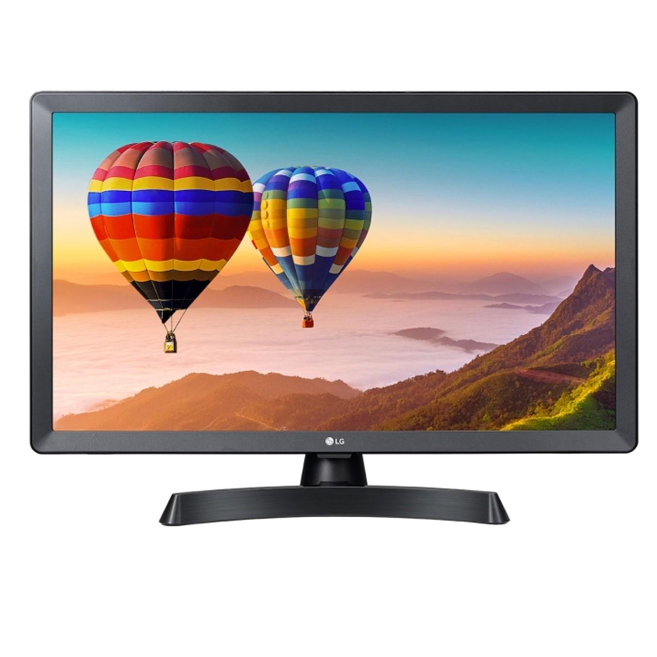 """MONITOR TV LED LG 24"""" 24TN510S-PZ 1366 X 768 HDMI USB DVB-T2 SMART WIFI NEGRO"""