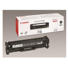 Canon 718 Black - paquete de 2 - negro - original - cartucho de tóner