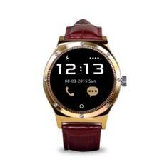 Reloj inteligente swiss - pro montreux pulsometro dorado 1.22 - bt4.0 -  ips - bluetooth -  pantalla de uso tactil