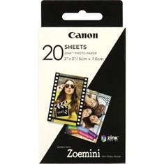 PAPEL FOTOGRAFICO CANON ZP-2030 20 HOJAS ZINK PARA ZOEMINI