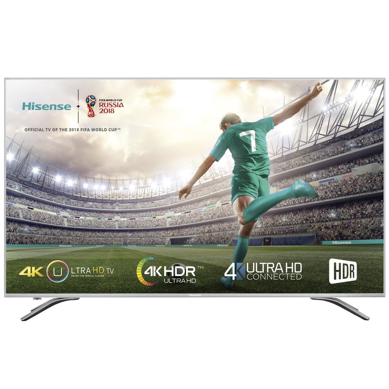 """TV LED HISENSE 50A6500 - 50""""/127CM 4K - HDR - DVB-T2+C+S2 - SMART TV - 3XHDMI - 2XUSB - MODO HOTEL"""