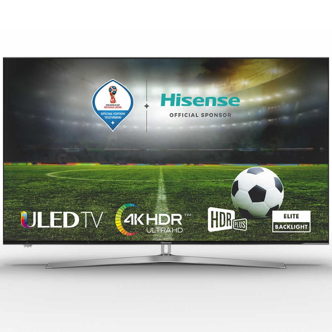 """TV ULED HISENSE 50U7A - 50""""/127CM - HDR - DVB-T2+C+S2 - SMART TV - BARRA DE SONIDO TRASERA INTEGRADA - 4XHDMI - 2XUSB - BLUETOOTH - MODO HOTEL"""