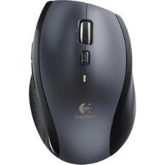 Mouse Raton Logitech M705 Laser Wireless Inalambrico Silver 0.0