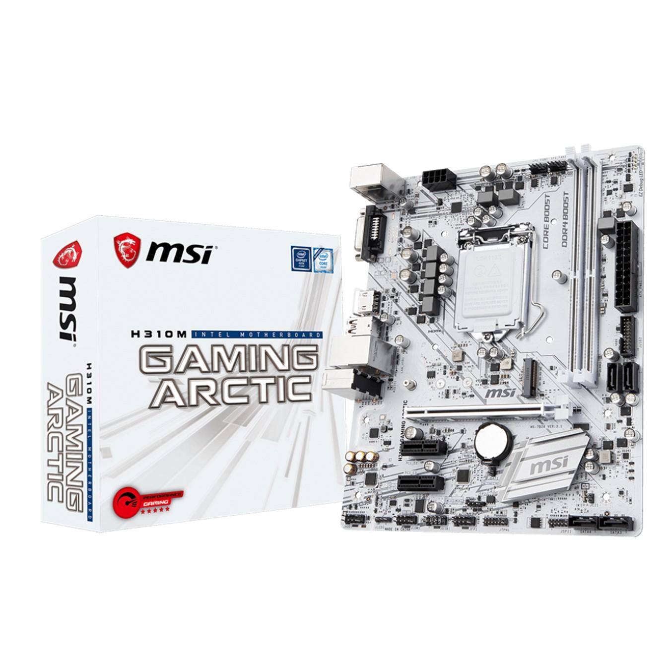 PLACA BASE MSI INTEL H310M GAMING ARTIC SOCKET 1151