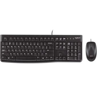 Logitech Desktop MK120 - juego de teclado y ratón - francés