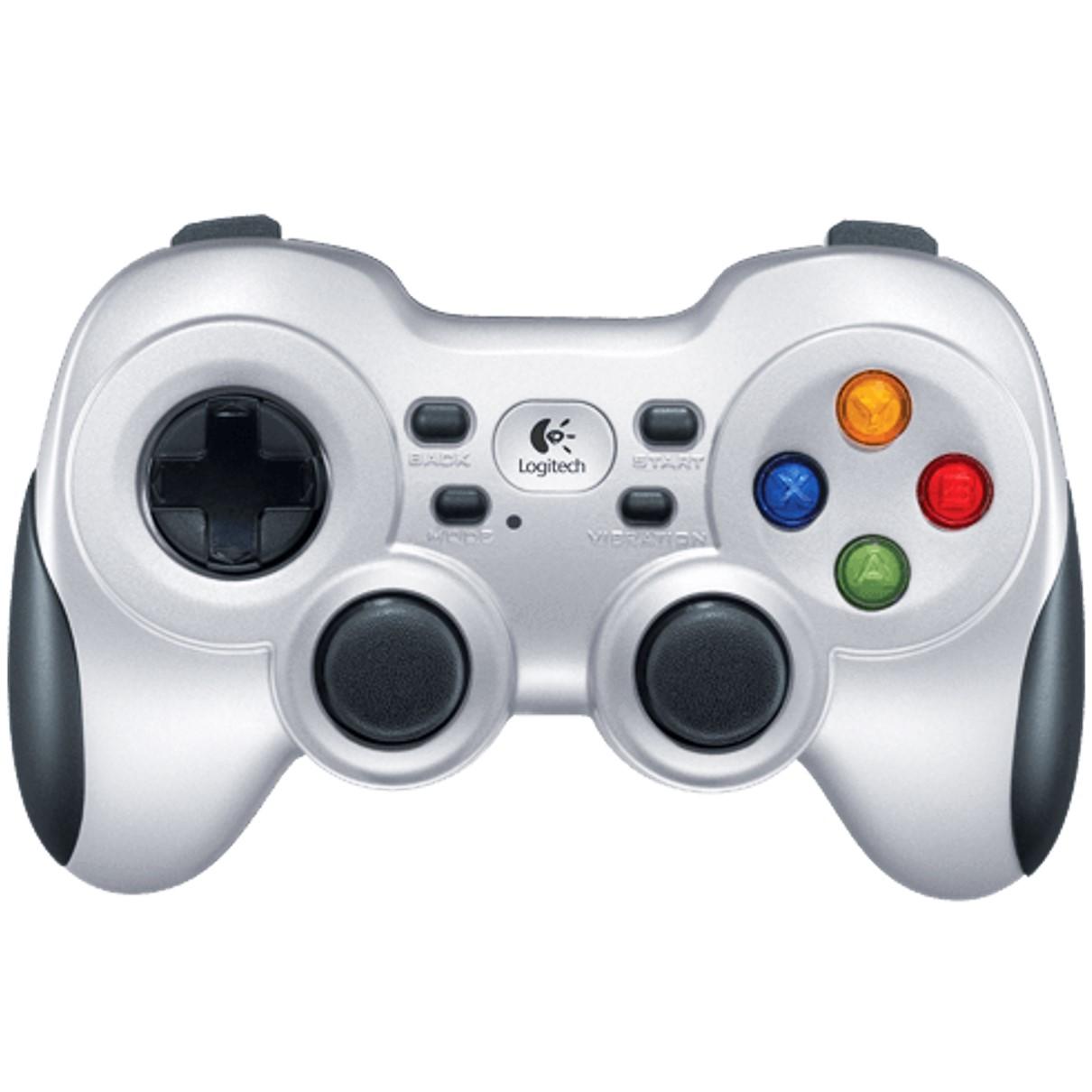 Logitech Wireless Gamepad F710 - mando de videojuegos - inalámbrico - 2.4 GHz