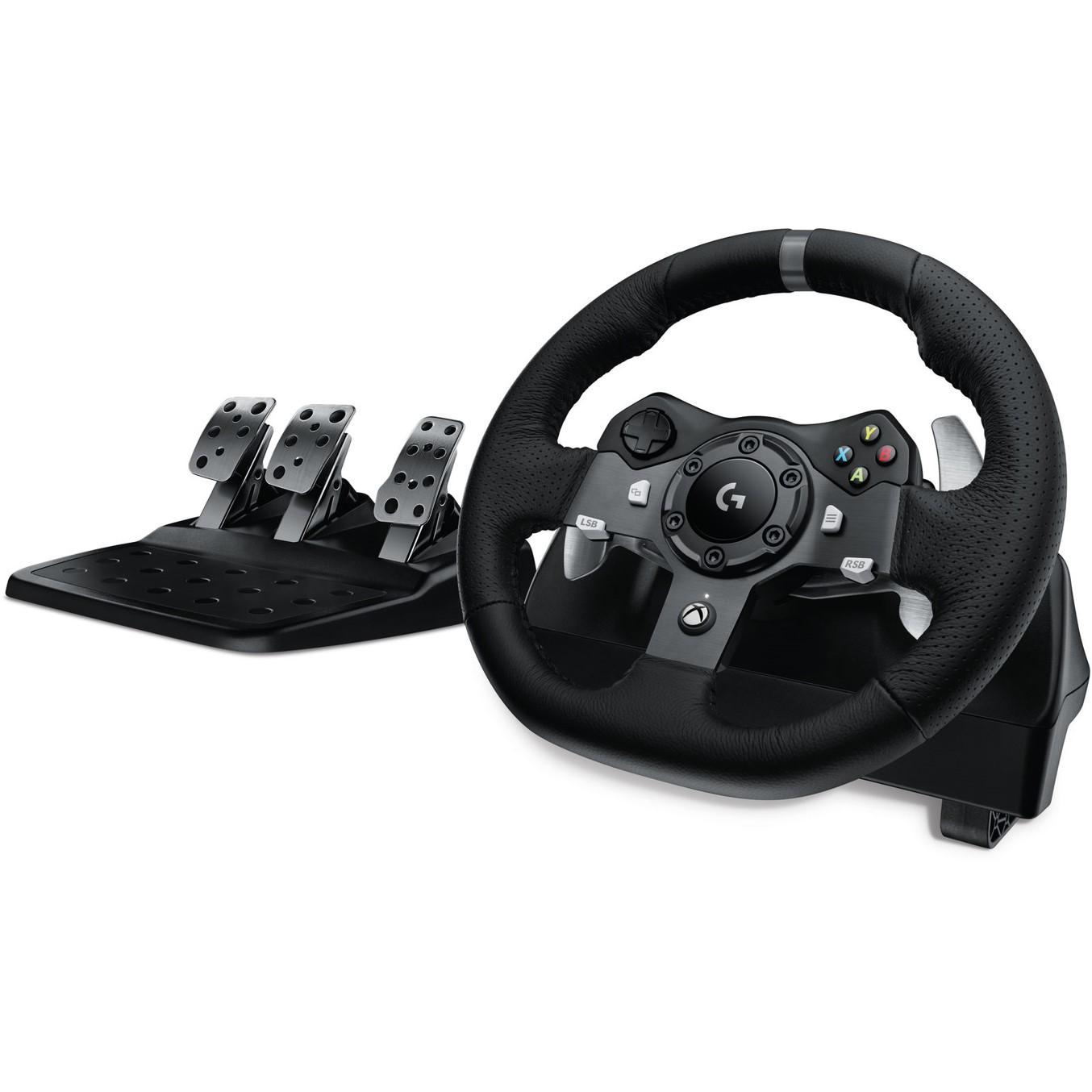 Logitech G920 Driving Force - juego de volante y pedales - cableado