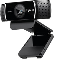 Webcam logitech c922 pro stream full hd 30fps con
