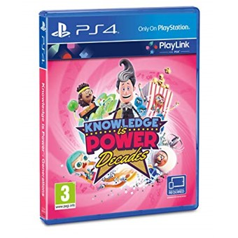 Juego ps4 -  knowledge is power decades