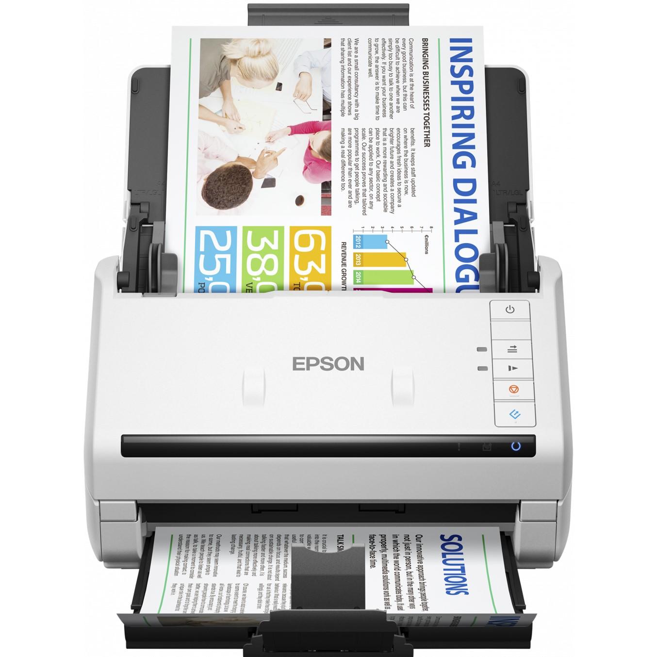 Epson WorkForce DS-530 - escáner de documentos - de sobremesa - USB 3.0