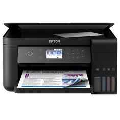 MULTIFUNCION EPSON INYECCION COLOR ECOTANK ET-3700 A4- 33PPM- RED- WIFI- WIFI DIRECT- LCD
