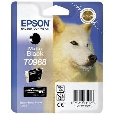 Epson T0968 - negro mate - original - cartucho de tinta