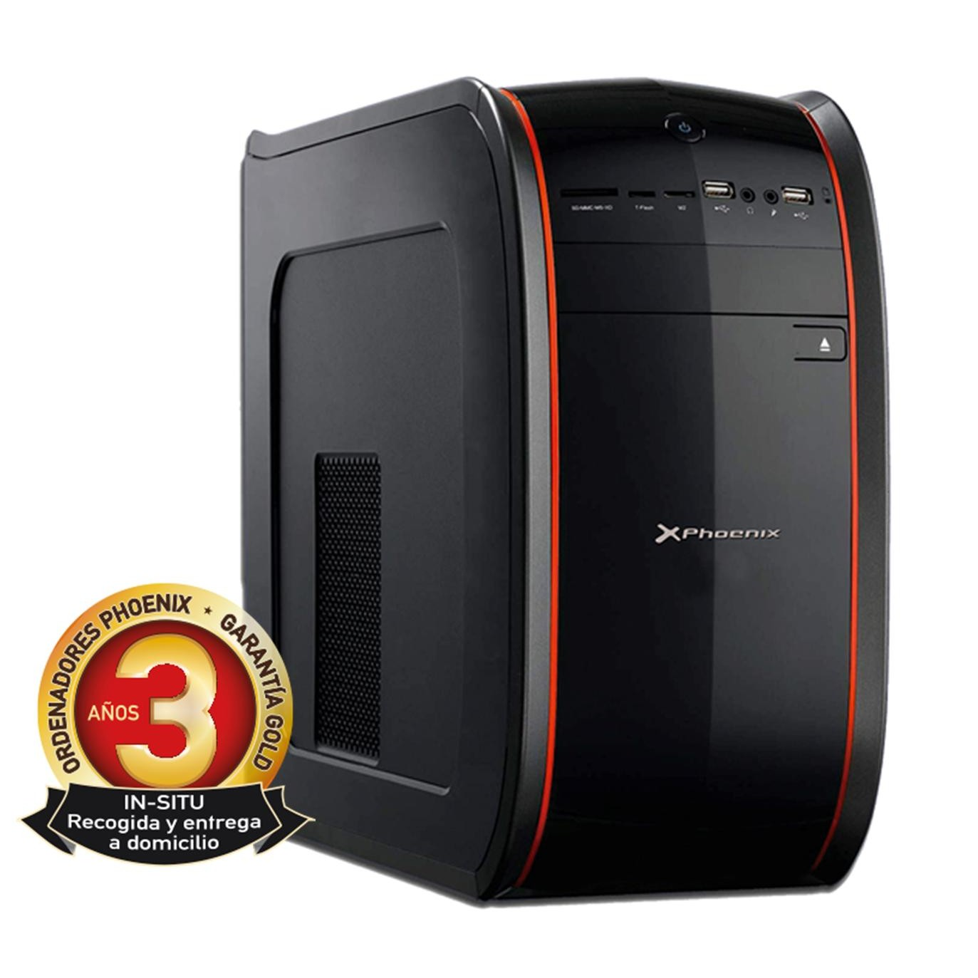 Ordenador pc phoenix casia intel core i3 4gb ddr4