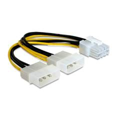 Cablexpert cable de alimentación - 15 cm