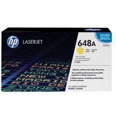 HP 648A - amarillo - original - LaserJet - cartucho de tóner (CE262A)