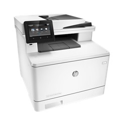 MULTIFUNCION HP LASER COLOR LASERJET PRO M477FDW FAX- A4- 27PPM- USB- RED- ADF- EPRINT- RED- DUPLEX- WIFI- USB- NFC