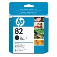 HP 82 - negro - original - DesignJet - cartucho de tinta