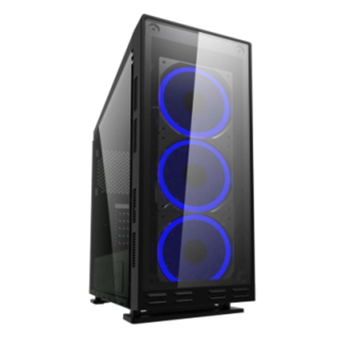 CAJA ORDENADOR GAMING COOLBOX DEEPFLASH RGB ATX USB