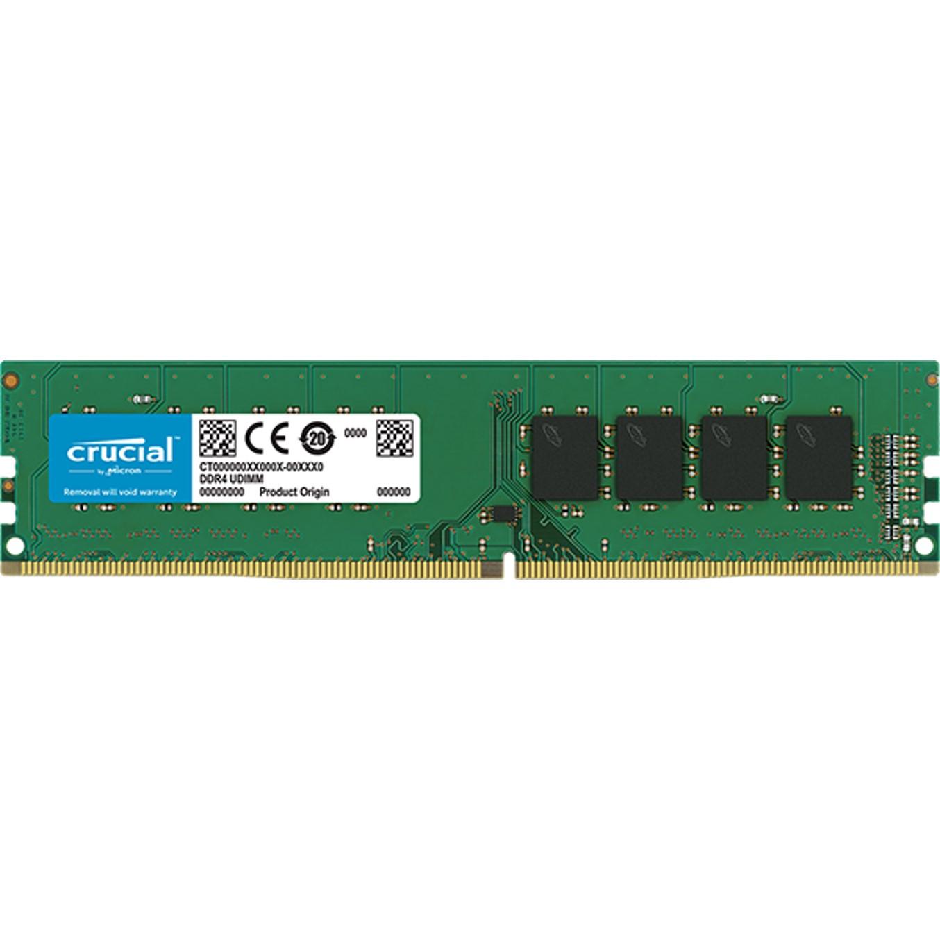 MEMORIA DDR4 16GB CRUCIAL   UDIMM   2400 MHZ   PC4
