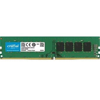 MEMORIA DDR4 4GB CRUCIAL   UDIMM   2400 MHZ