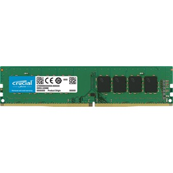 MEMORIA DDR4 8GB CRUCIAL   UDIMM   2400MHZ   PC4-19200
