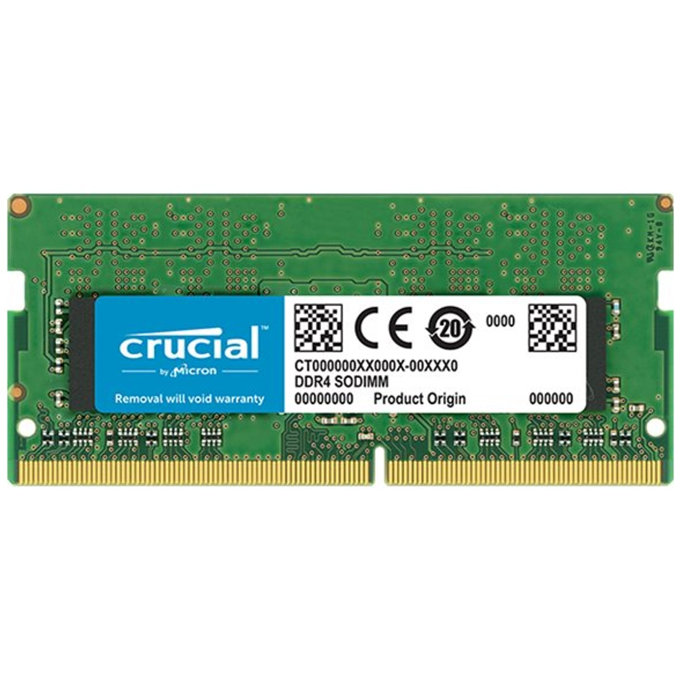 MEMORIA DDR4 8GB CRUCIAL   SODIMM   2666 MHZ   PC4