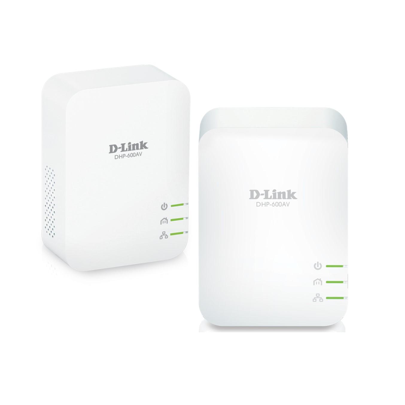 D-Link PowerLine AV2 600 Gigabit Starter Kit DHP-601AV - puente - conectable en la pared