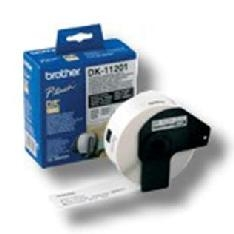 Etiquetas papel precortada brother dk11201 29 x 90 mm 400 - e ql - 500a ql - 500bw ql - 560 ql - 570 ql - 1050