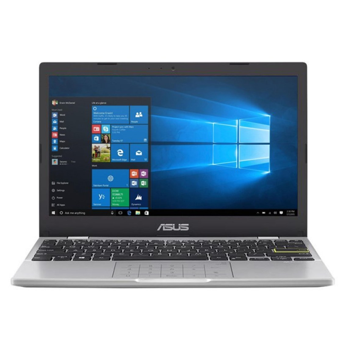 "PORTATIL ASUS E210MA-GJ003R CEL N4020 11.6"" 4GB / EMMC64GB / WIFI / BT / W10PRO ACADEMIC"