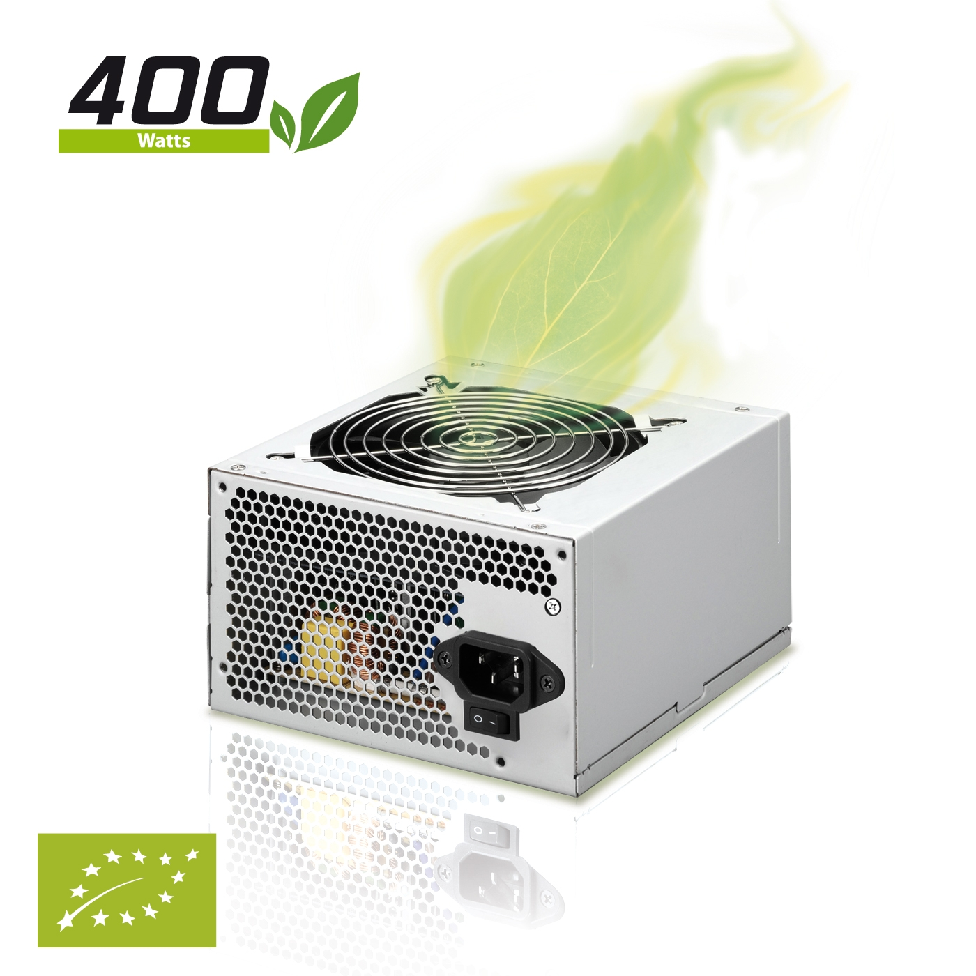 Fuente de alimentacion phoenix 400w atx p4 ready  ventilador 12cm certificacion europea