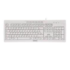 CHERRY STREAM 3.0 - teclado - español - gris claro